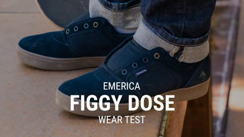Emerica Figgy Dose Skate Shoe Wear Test Review- Tactics | Tactics Boardshop