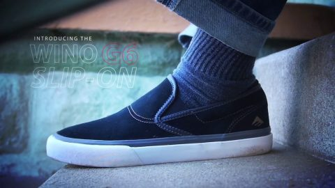 Emerica Presents: Jon Dickson for the WINO G6 Slip On - emerica