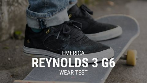 Emerica Reynolds 3 G6 Skate Shoe Wear Test- Tactics | Tactics Boardshop