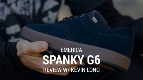 Emerica Spanky G6 Skate Shoe Review with Kevin Long - Tactics | Tactics Boardshop
