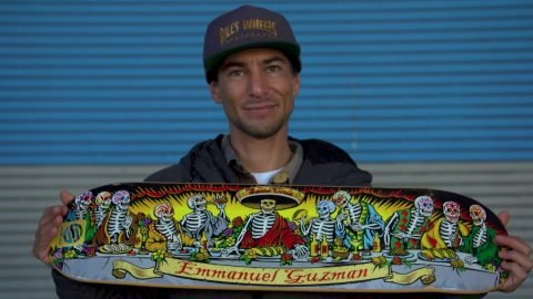 Emmanuel Guzman | 15 Years Pro for Santa Cruz Skateboards | Santa Cruz Skateboards