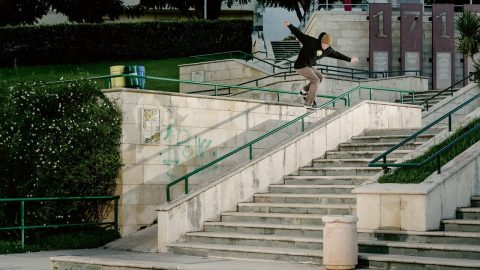 Eniz Fazliov Free part | Freeskatemag