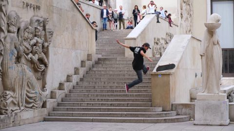 Eniz Fazliov – Le Dome Raw - Freeskatemag