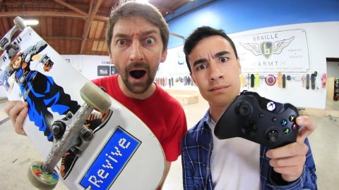 ENTIRE BRAILLE TEAM VS ZEXYZEK GAME OF SKATE | Braille Skateboarding
