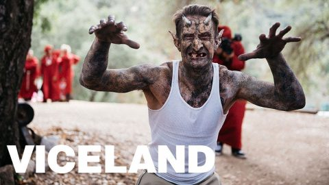 Epic Goblin Makeup Transformation on Pro Skater Andy Roy | VICELAND