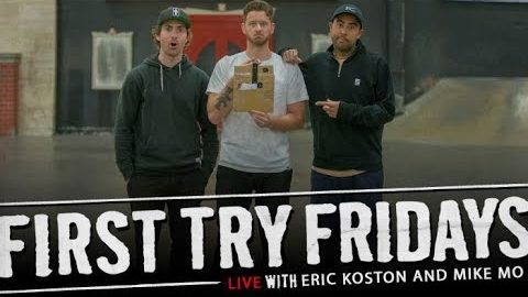 Eric Koston & Mike Mo - First Try Friday... LIVE! - The Berrics