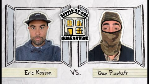 Eric Koston Vs. Dan Plunkett | BATQ | The Berrics