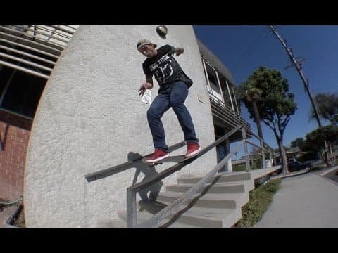 Eric Martinac Switch Tailslide Big Spin Raw Uncut - E. Clavel