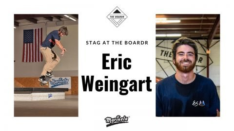 Eric Weingart in Stag at The Boardr Presented by Marinela | TheBoardr