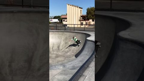 Erick Winkowski | Carve Grinds and Hoho's #Shorts | Santa Cruz Skateboards