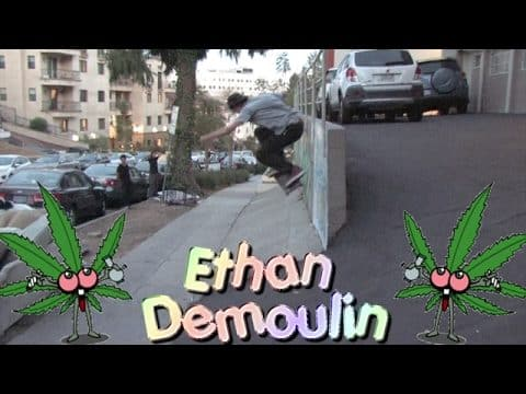 Ethan Demoulin Hijinx Unlimited Part | TransWorld SKATEboarding - TransWorld SKATEboarding