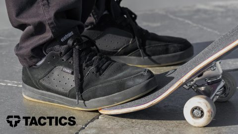 Etnies Veer Skate Shoes Review with Trevor McClung - Tactics | Tactics Boardshop
