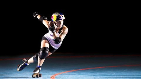 Experience the Ferocity of Women's Roller Derby through the Eyes of Loren Mutch - Red Bull
