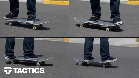 Explaining the Four Skateboard Stances - Tactics | Tactics Boardshop
