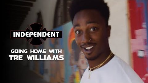 Exploring Riverside: Tre Williams Goes Home | Independent Trucks | Independent Trucks