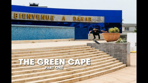 Exploring West Africa On A Skateboard With Jaws, Barney Page & Crew | THE GREEN CAPE Part One | Red Bull Skateboarding