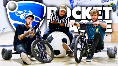 Extreme Drift Trike Rocket League Challenge! | Drift Trikes Ep. 6 | Braille Skateboarding