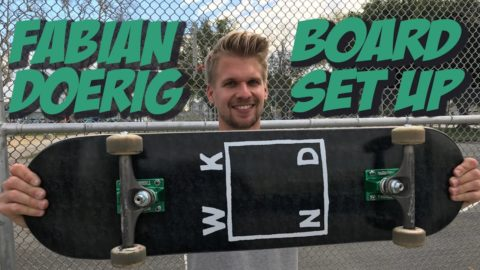 FABIAN DOERIG BOARD SET UP AND INTERVIEW !!! - Nka Vids