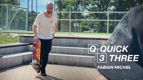 Fabian Michel - Quick 3 | Pocket Skateboard Magazine