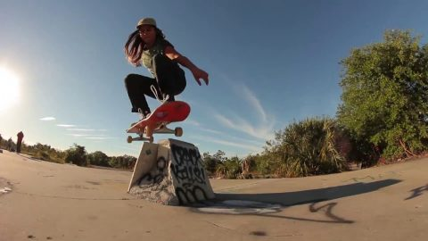 Fabiana Delfino's first ever trip with Santa Cruz Skateboards | Santa Cruz Skateboards