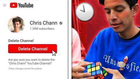 FAIL to SOLVE Rubik's Cube = DELETE MY CHANNEL! | Chris Chann