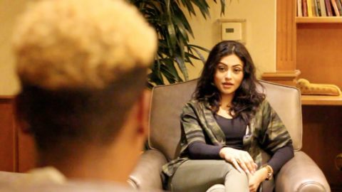 Fake Kylie Jenner prank interview
