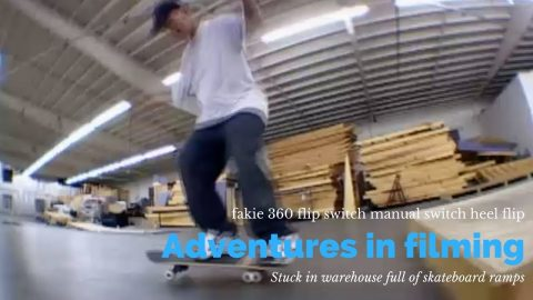 Fakie 360 flip switch manual switch heel flip | Ronnie Creager