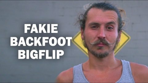 Fakie Backfoot Bigflip: Eric Kopecky || ShortSided - Brett Novak