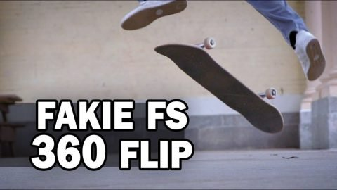 Fakie Frontside 360-Flip: Josh Katz || ShortSided - Brett Novak