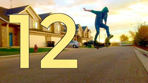 FAKIE LATE BIG SPIN FLIP | RECAP ROUND 12 | Global Game of Skate