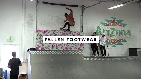 Fallen Footwear Team In The TWS Park | TransWorld SKATEboarding