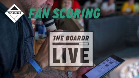 Fan Scoring: The Boardr Live Skateboarding and Action Sports Scoring System | TheBoardr