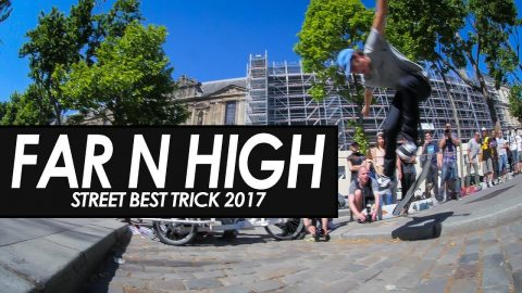 Far N High - Street Best trick contest 2017 - tomothehomeless