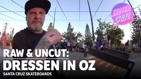 FASTEST SKATER EVER?! Eric Dressen BLAZES Through OZ: RAW & UNCUT | Santa Cruz Skateboards | Santa Cruz Skateboards