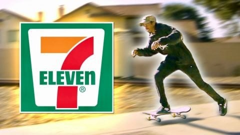 FASTEST SKATER TO 7-ELEVEN WINS FREE SLURPEES FOR A YEAR! | Braille Skateboarding