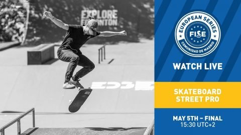 FES 2019: Skateboard Street Pro Final (English) | FISE