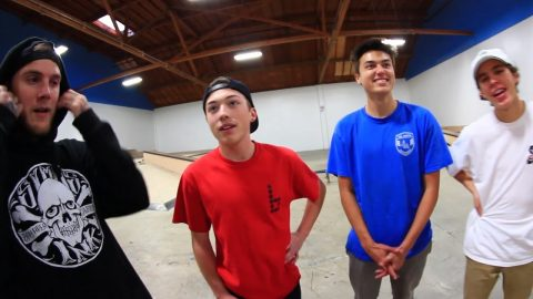 FETTY VS JUSTIN VS KELLY VS LUKE | TOURNAMENT SKATE - Braille Skateboarding