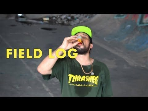 FIELD LOG - FRED'S FINALE DAZE - HabitatSkateboards