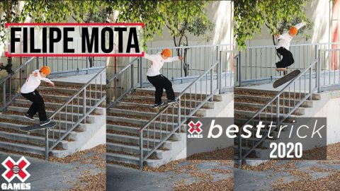 Filipe Mota: REAL STREET BEST TRICK 2020 | World of X Games | X Games