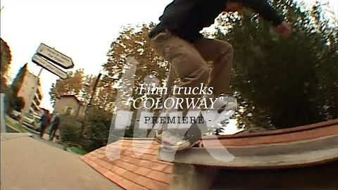 "Film Trucks ""Colorway"" / PREMIERE 