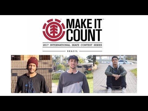 Finalistas: Make It Count 2017 - CemporcentoSKATE