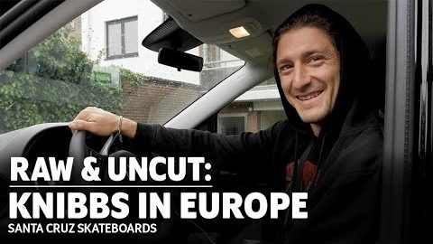 Find The Lines! JEREME KNIBBS in EUROPE: RAW & UNCUT | Santa Cruz Skateboards | Santa Cruz Skateboards