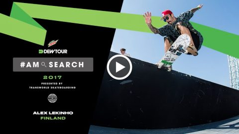 Finnish Transplant from Brazil on Skating In New Environment | Alex Lekinho Interview - Dew Tour