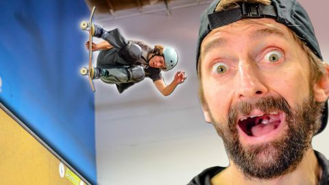 FIRST 900 DONE IN THE BRAILLEHOUSE?! | Braille Skateboarding
