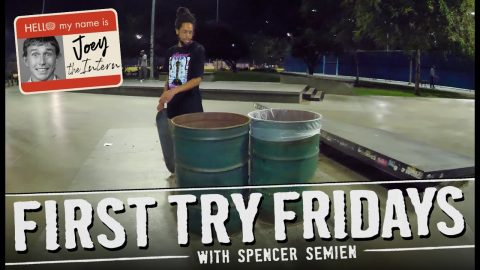 First Try Friday With Spencer Semien | Joey Brezinski Intern Weekend | The Berrics