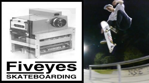 Five Highs 33 Ben Rowleys Eaton clearout - Five eyes Skateboarding