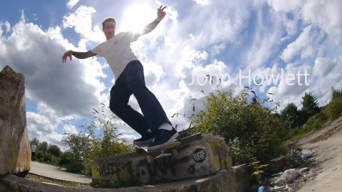 Five Highs 34 - John Howlett down Trowse - Five eyes Skateboarding