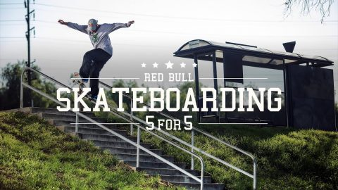 Five Skaters Drop Five Bangers Each | 5 FOR 5 | Red Bull Skateboarding
