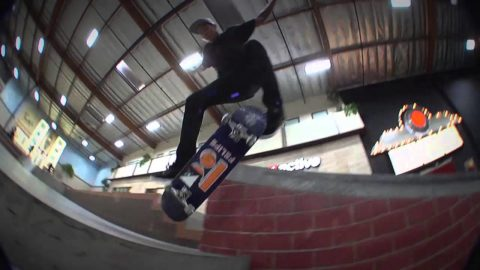 Flip In Felipe with Felipe Gustavo - NO MUSIC - The Berrics