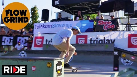 Flowgrind International 2018 - Street Finals & Double Set Best Trick | RIDE Channel